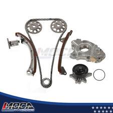 Timing Chain Kit Oil Water Pump fit 98-99 Toyota Corolla Chevrolet Prizm 1.8L l4