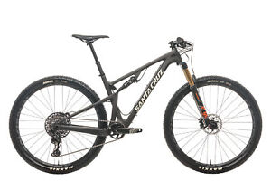 "2019 Santa Cruz Blur C Mountain Bike Medium 29"" Carbon SRAM GX Eagle Fox"