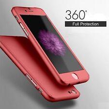 Coque Etui Housse Protection intégrale Vitre Verre Trempé pour Apple Iphone 6 6S
