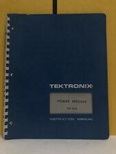 Tektronix 070 1305 00 Power Module Tm 503 Instruction Manual