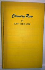 Cannery Row, John Steinbeck, Viking, 1st ed. 1st print. yellow, VGd