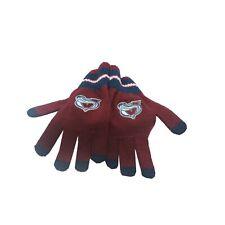 Colorado Avalanche NHL Reebok Youth Boys (8-20) OSFM Winter Gloves Mitts New
