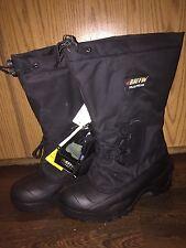 NWT Baffin Men's Polar Proven New Rubber Black Winter Boots Super Warm Size 11