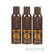Body Drench Quick Tan Instant Self Tanning Spray Medium Dark 6 oz (Pack of 3)