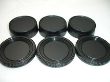 Lens REAR Cap & Camera Body Cap for NIKON , THREE PAIRS - DSLR & SLR D3400 D7000