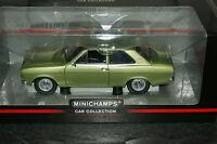 1/18 MINICHAMPS Ford Escort I 1300 L 1968 green metallic