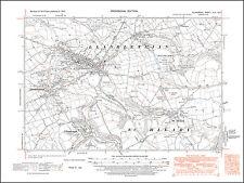 Cowbridge, Llanblethian, Llandough, St Hilary old map Glamorgan 1947: 45NE Wales