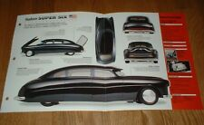 ★★1949 HUDSON SUPER SIX ORIGINAL IMP BROCHURE SPECS INFO 48 49 50 51 54 CUSTOM★★