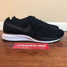 new styles 102af 684d2 Nike Flyknit Trainer Black Running Shoes Ah8396-007 Womens 6.5   Mens Size 5