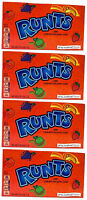 4x Formally Wonka Runts Candy Large Box 141.7g American Retro Sweets
