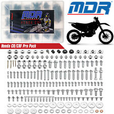Honda Bolt Pro Factory Pack for Honda CR-CRF 00-17 MDR Pro Factory Style Kit