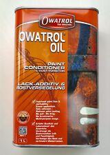 1L Owatrol Öl Kriechöl Farbadditiv Rostschutz - professionelle Oldtimerpflege !