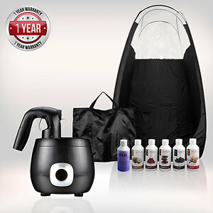 Tanning Essentials™ Pro V Complet Spray Tan Kit 'Noir' + Gratuit suntana Fauve