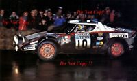 Sandro Munari & Piero Sodano Lancia Stratos HF RAC Rally 1978 Photograph 2