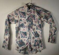 Vintage Wrangler Western Long Sleeve Button Up 15 1/2- 35 Cotton Shirt Medium