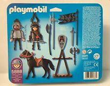 Playmobil 5888 Knights w/horse & accessories   - NEW
