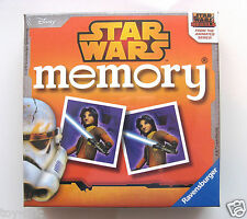 STAR WARS REBELS PAIRS MEMORY GAME BY RAVENSBURGER - MINI SIZE - NEW & SEALED!