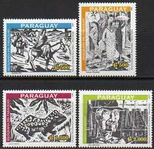 PARAGUAY 2001. Xylographie du Paraguay (4)