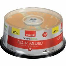 Maxell 625335 High-Sensitivity Recording Layer Recordable Cd (Audio Only) 700Mb/