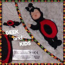 Poupon Bébé Déguisé en Cocinelle - Unimax Toy - 22cm - Ref C38