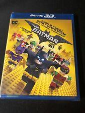 The LEGO Batman Movie (Blu-ray Disc, 2017, 3D) NEW!