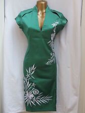 Oriental Emerald Green LATESTS Design Chinese dress size 14