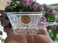 LOVELY=Princess House Germany 24% Lead Crystal Wagon >>AMAZING+GORGEOUS>GERMANY