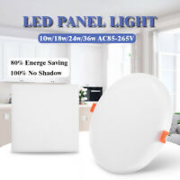 10W 18W 24W 36W LED Recessed Panel Light Ceiling Down Light Light Indoor Bedroom