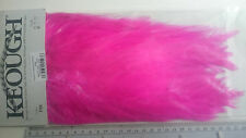 KEOUGH saddle selle coq ROSE purple grade 1 fly tying montage mouche hackle