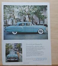 1951 magazine ad for Packard 300 - Boss of the Road, Trend-setting new beauty