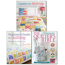 Quilter's Bible Collection 3 Books Set A Passion for Quilting, Beginner's Guide