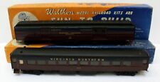 Vtg Walthers & Athearn HO Virginia Northern Custom Painted Baggage & Coach Cars
