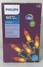 Philips Orange Mini lights (60 mini lights) Indoor/Outdoor