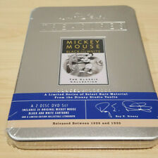 Walt Disney Treasures Mickey Mouse in Black and White DVD 2002