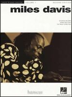 Miles Davis Jazz Piano Solos Volume 1 2nd Edition Sheet Music Book