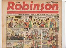 ROBINSON n°207 - 14 Avril  1940 - TTB