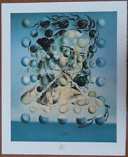SALVADOR DALI : Portrait: Galatea aux sphères - LITHOGRAPHIE SIGNEE sur ARCHES
