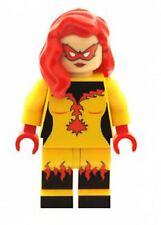 Custom Minifigure Firestar  Printed on LEGO Parts  FREEPOST WORLDWIDE