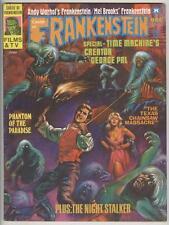 Castle of Frankenstein #25 VG/FN Texas Chainsaw Massacre 4 pgs 8 pics