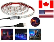 *NEW*  USB LED Light Strip 5V 6.56Ft/2M RGB Color Changing with Remote Control