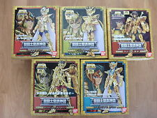 5 GOLD ORS MYTH CLOTH SAINT SEIYA Japon lion vierge balance sagittaire verseau