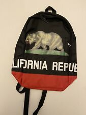 california republic backpack. It's Brand New, Clean Looking. Great For School.