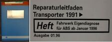 VW Bus T4 - Reparaturleitfaden - Fahrwerk ABS ab 01/96