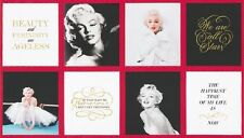 Marilyn Monroe With Her Famous Sayings Panel-R. Kaufman-We Are All Stars