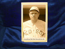 Boston Red Sox Young BABE RUTH Cabinet Card Photograph Vintage Baseball 1918