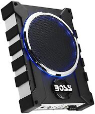 """Boss Audio Systems BASS1600 1600W 10"""" Low Profile Amplified Subwoofer With..."""