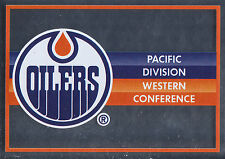16/17 PANINI NHL STICKER TEAM LOGO #331 EDMONTON OILERS *24955
