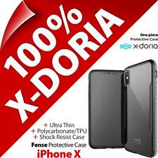 X-Doria Fense Ultrafina de Protección con Clip Funda Carcasa para Iphone Apple X