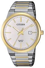 Citizen Quartz Men's Gold and Silver Tone Bracelet 39mm Watch BI5064-50A
