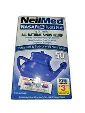 NEILMED NASALFLO NETI POT ALL NATURAL SINUS RELIEF-50 PREMIXED PACKETS